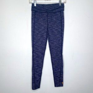 Lucy Leggings Hatha Collection Space Dye Stripe